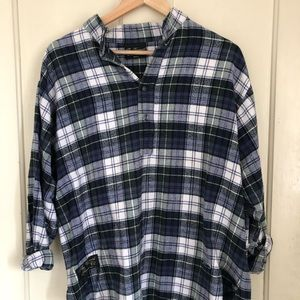 Vermont Flannel Pullover